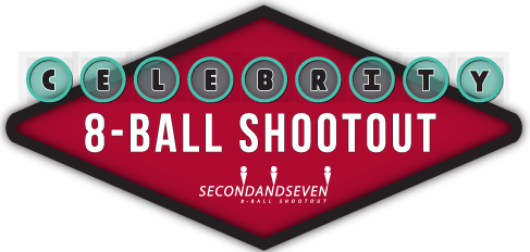 Celebrity 8-Ball Shootout  Logo